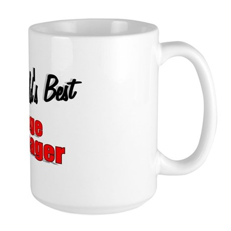 """The World's Best Cage Manager"" Large Mug"
