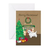 Westie greeting cards Greeting Cards (20 Pack)