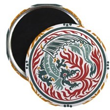 Lucky Chinese Dragon Magnet