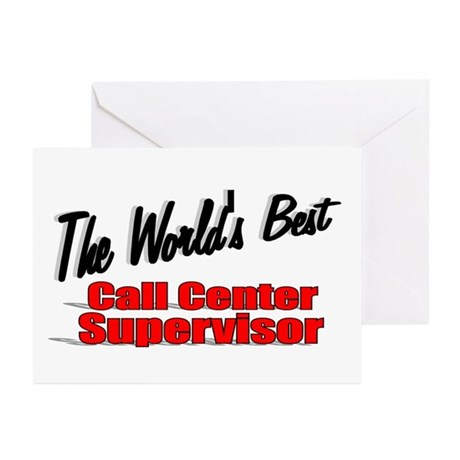 """The World's Best Call Center Supervisor"" Greeting"
