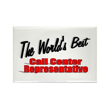 """The World's Best Call Center Representative"" Rect"