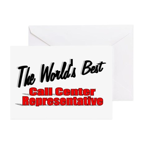"""The World's Best Call Center Representative"" Gree"