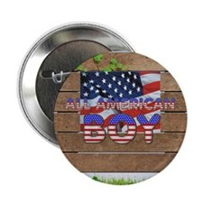 "All American Boy 2.25"" Button (10 pack)"