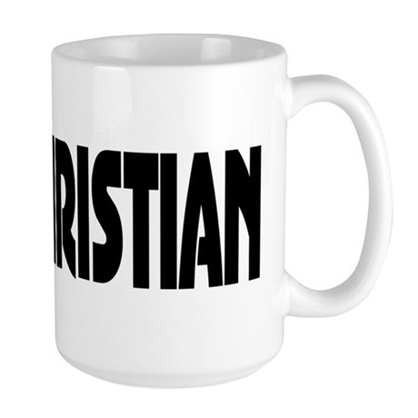 Vote Christian Large Mug