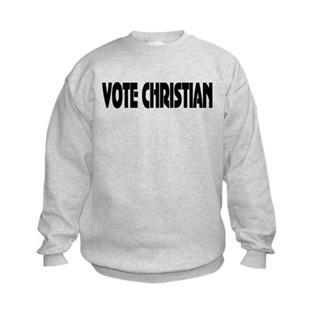 Vote Christian Kids Sweatshirt
