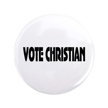 "Vote Christian 3.5"" Button"