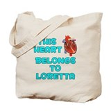 This Heart: Loretta (B) Tote Bag