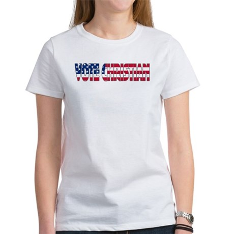 Vote Christian Women's T-Shirt