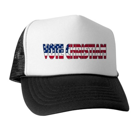 Vote Christian Trucker Hat
