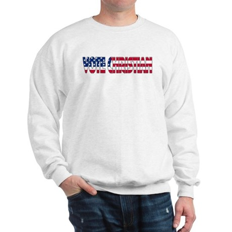 Vote Christian Sweatshirt