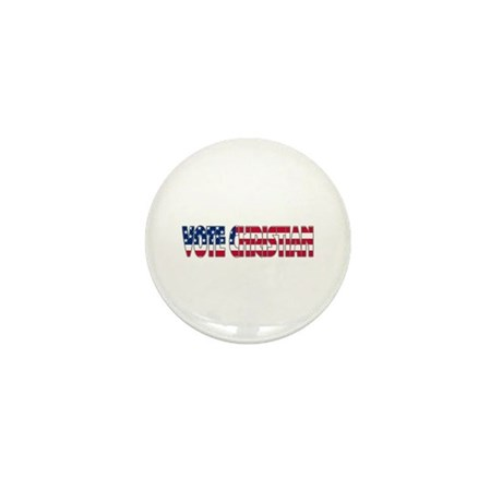 Vote Christian Mini Button (10 pack)