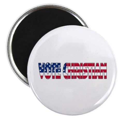 "Vote Christian 2.25"" Magnet (10 pack)"