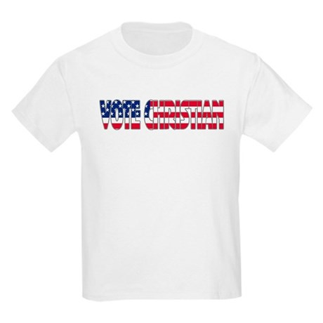 Vote Christian Kids Light T-Shirt