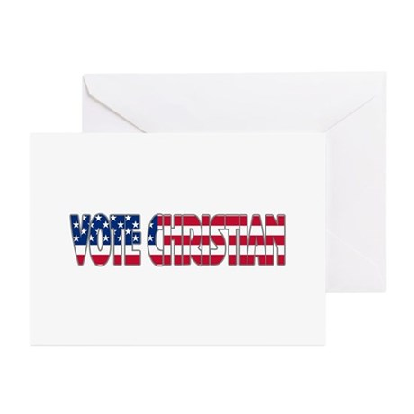 Vote Christian Greeting Cards (Pk of 10)
