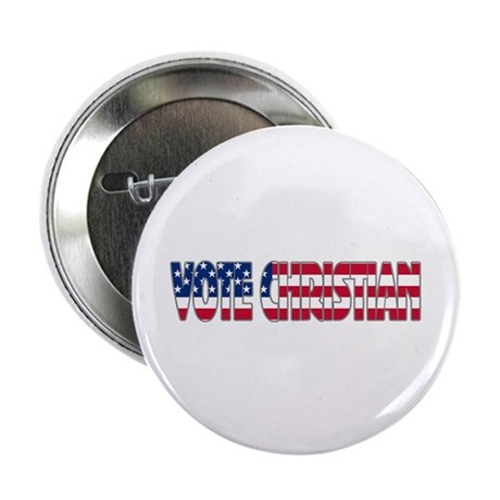 "Vote Christian 2.25"" Button (100 pack)"