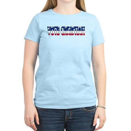 Vote Christian Women's Light T-Shirt