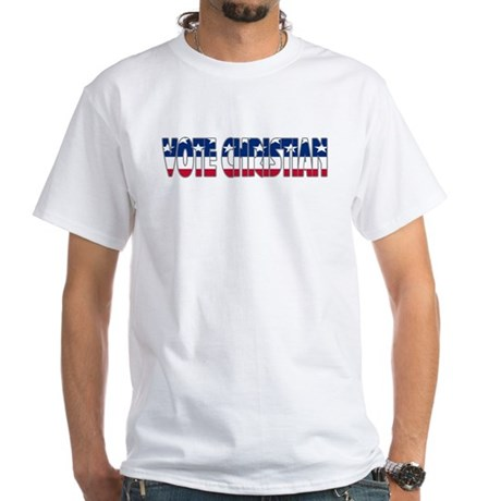 Vote Christian White T-Shirt
