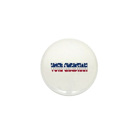 Vote Christian Mini Button (100 pack)