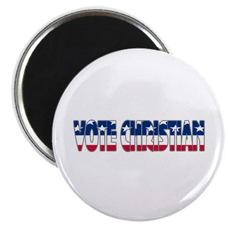 Vote Christian Magnet