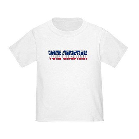Vote Christian Toddler T-Shirt