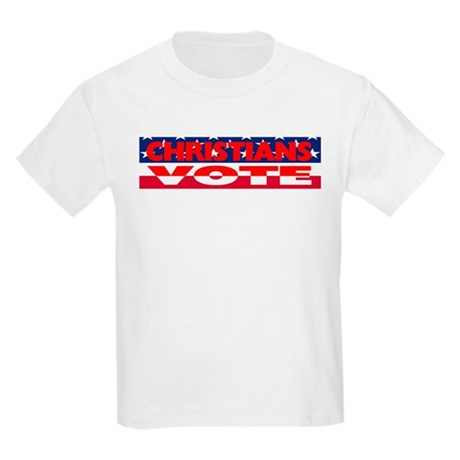 Christians Vote Kids Light T-Shirt