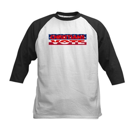 Christians Vote Kids Baseball Jersey