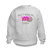 Call YiaYia with Pink Phone Sweatshirt