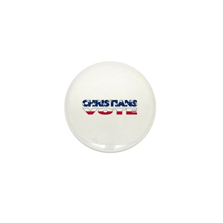 Christians Vote Mini Button (100 pack)