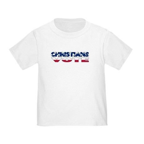 Christians Vote Toddler T-Shirt