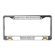 Cute Civil war reenacting License Plate Frame