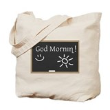 Phonetic Good Morning Tote Bag