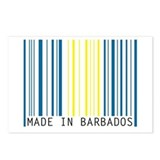 made in barbados Postcards (Package of 8)