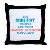 Coolest: Sparks Glencoe, MD Throw Pillow