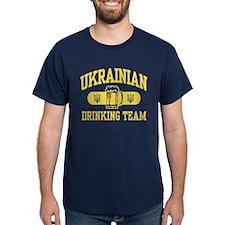 Ukrainian Drinking Team T-Shirt