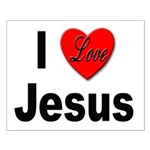 I Love Jesus Small Poster