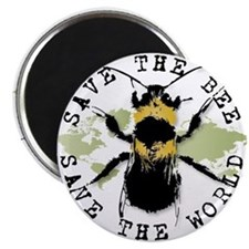 Save The Bee... Magnet