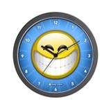 Big Smile Wall Clock