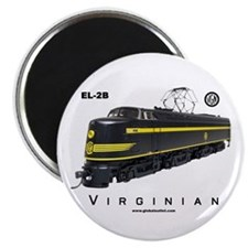 Virginian EL-2B Electric Locomotive Magnet