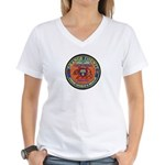 O.C. Urban Search & Rescue Women's V-Neck T-Shirt