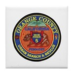 O.C. Urban Search & Rescue Tile Coaster