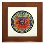 O.C. Urban Search & Rescue Framed Tile