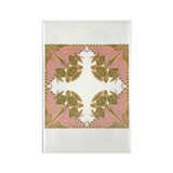 Pretty in Pink Rectangle Magnet