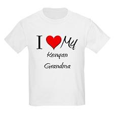 I Heart My Kenyan Grandma T-Shirt