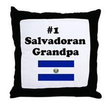 #1 Salvadoran Grandpa Throw Pillow