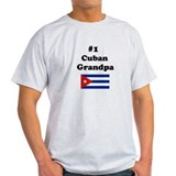 #1 Cuban Grandpa T-Shirt