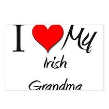 I Heart My Irish Grandma Postcards (Package of 8)
