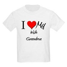 I Heart My Irish Grandma T-Shirt