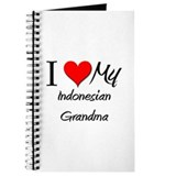 I Heart My Indonesian Grandma Journal