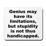 Elbert hubbard quote Mousepad