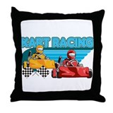 Kart Racing Throw Pillow